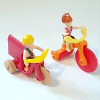 The Flintstones 1993 McDonald's Happy Meal Toys / Pebbles And Bam Bam
