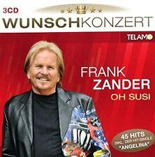 FRANK ZANDER - WUNSCHKONZERT-OH SUSI 3 CD NEU