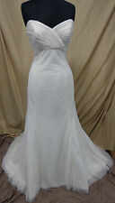 Simply Stunning Strapless Wedding Dress Sweetheart Ivory Size 10 Retail $1000