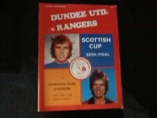 Dundee United v Rangers Scottish cup semi final 1977-78