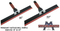 "Marshalltown Adjustable Squeegee 18"" or 22"" Skimming Spatula Trowel Squeeges"