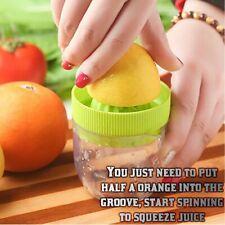 Portable Manual Lemon Citrus Juicer Lime Orange Fruit Hand Press Squeezer