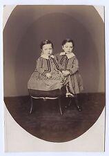 F. DERON ? Bruxelles Belgique Vintage albumine ca 1865