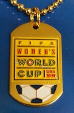 WOMEN'S WORLD CUP 1999 DOG TAG