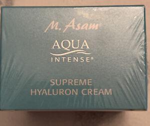 M. Asam Aqua Intense Supreme Hyaluron Cream Moisturizer NEW