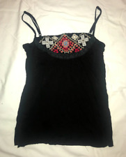 Hand beaded and Embroidered Tank top