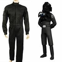 Star Wars Imperial Tie Fighter Pilot Flight Suit Cosplay Costume