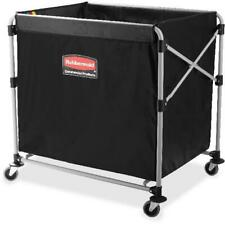 Rubbermaid Collapsible Steel X-Cart Basket Truck Large Load 8 Bushel New