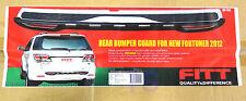 Sill Bumper Black Chrome Back Rear Guard For Toyota Fortuner Suv 2012 13 14