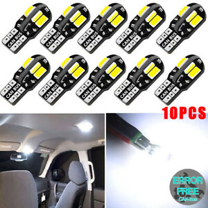 10 Stk T10 SMD LED Licht Auto CANBUS Lampe Standlicht Innenraum Beleuchtung 12V