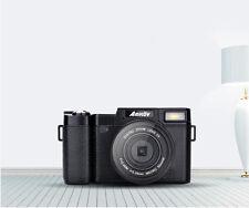 "AMKOV 3"" TFT LCD 1080P 24MP Digitalkamera 4X Zoom HD Camcorder DSLR Kamera+Lens"