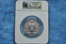 2010 America the Beautiful 5 oz., NGC, Hot Springs, SP69, Early Releases