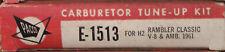Pacco Carburetor Tune Up Kit E-1513 H2 Rambler Classic V8 & AMB. 1961 (473*)