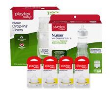 Playtex Baby Premium Nuser Bottles, Liners, Nipples