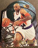 Charles Barkley 1995-96 Fleer Metal Maximum Metal Die Cut Phoenix Suns HOF