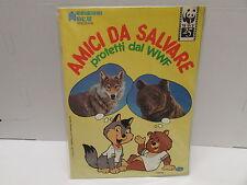 album edizioni blu  - AMICI DA SALVARE protetti dal WWF - vuoto - 1986  -