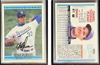 Dan Plesac Signed 1992 Donruss #682 Card Milwaukee Brewers Auto Autograph