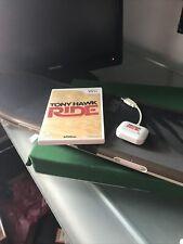 New listing TONY HAWK RIDE Skateboard & Game - Nintendo Wii