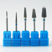 Carbide UV Gel Acrylic Nail Drill Bits Electric Nail Drill Machine Manicure Tool