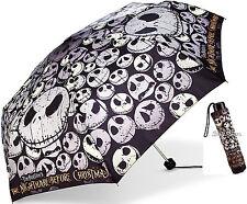 Disney Parks The Nightmare Before Christmas Jack Skellington Fold Up Umbrella