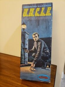 1966 AURORA ~ THE MAN FROM UNCLE MODEL KIT #411-98 NAPOLEON SOLO RARE