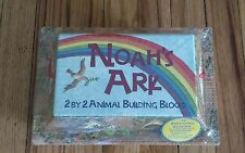 NOAHS ARK 2 BY 2 ANIMAL BUILDING BLOCKS 52 ANIMALS WJ FANTASY CHILDRENS TOY KIDS
