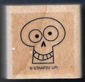 SKELETON KEY HOLE GHOST Halloween Stampin' Up! Spooky Bingo Bits RUBBER STAMP