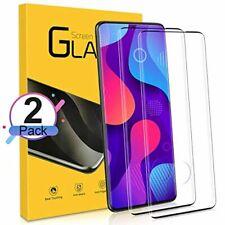 NONZERS Verre Trempé pour Samsung Galaxy S20 Plus, [2 Pack] 9H Dureté, 3D Couv