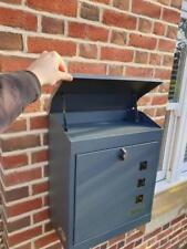 LARGE SECURE PARCEL / LETTER BOX  WEATHERPROOF - LOCKABLE - STYLISH PARCELBOX