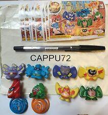 Rimbalzini Serie Completo 8Pcs + 8 Bpz-Da TT038 En TT045 Kinder Sorpresa