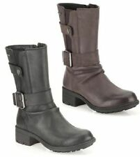 Clarks Zip 100% Leather Upper Boots for Women