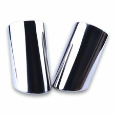2Pcs Exhaust Tip Muffler Trim Clamp Pipe Tips Exhaust System fit for VW Jetta