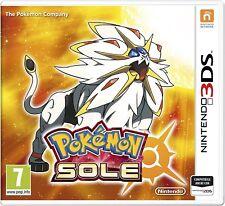 Pokémon Sole - Nintendo 3DS Nuovo Sigillato Italia - Spedizione immediata