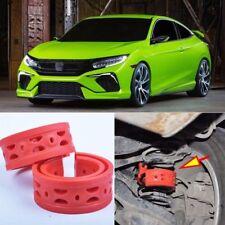 2pcs Rear Air Suspension Shock Bumper Spring Coil Cushion Buffer For Honda Civic