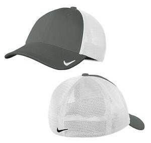 Nike Dri-FIT Mesh Back Cap Mens Fitted Hat NKAO9293 - New 2021