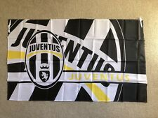 JUVENTUS FC Large Flag Big Banner Great Size: 90cm X 150cm Brand New Stock Now