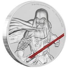 Niue - 5 Dollar 2017 - Darth Vader Star Wars Ultra High Relief 2 Oz Silber PP
