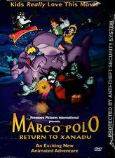 NEW DVD- Marco Polo: Return to Xanadu - FULL LENGTH ANIMATED CHILDRENs CLASSIC