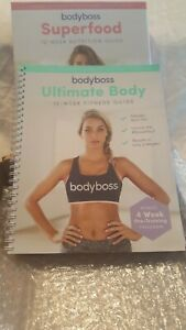 BODY BOSS 12 WEEK FITNESS GUIDE COMPLETE SET NEVER USED