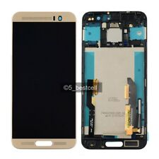 New Gold HTC One M9 Plus  M9+ Touch Digitizer Glass+LCD Display Assembly+Frame