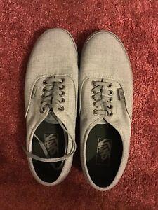 Vans Men's Smoked Pearl Grey 8.5 With Box