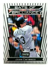 Jose Canseco #BB3 (2000 Stadium Club) Bats of Brilliance, Tampa Bay Devil Rays
