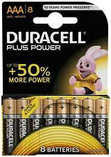 DURACELL PLUS POWER AAA 8 PACK BATTERIES
