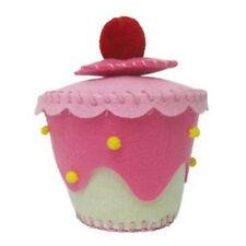 Rose / crème feutre Cupcake bijou Box Kit