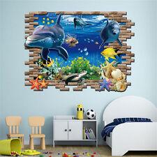 1pcs 3D Ocean Fish Under The Sea Wall Sticker Removable Bathroom Home  Decoratior Part 92