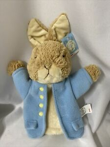 "Gund Peter Rabbit 10"" Plush Hand Puppet Beatrix Potter"