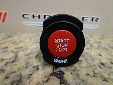 15-17 Challenger Charger Cherokee New Ignition Switch Start Push Button Red
