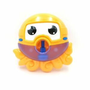 Automated Crab Bubble Maker Spout Musical Bubble Machine Bath Kids Fun Toy Gift