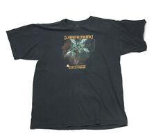 Genuine 2002 Linkin Park Reanimation Faded Black T-Shirt Alm Numetal Men's L