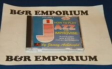 Jamey Aebersold - Jazz: How To Play And improvise Vol. 1 (1998) Used CD